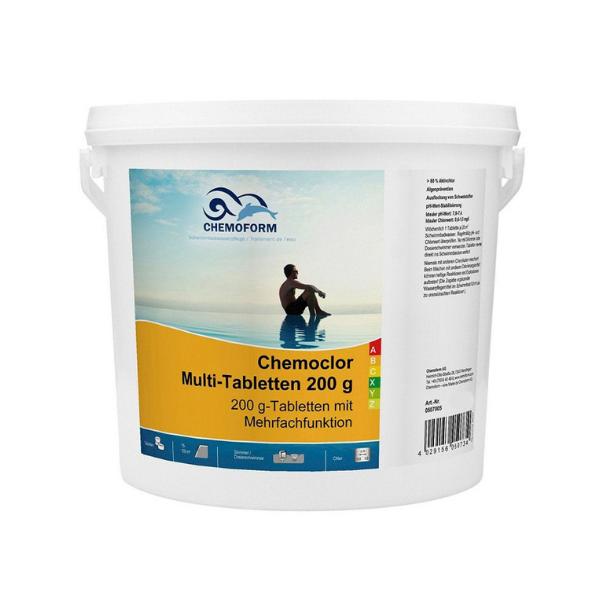 Chemoform Chemoclor Multifunkcijske tablete 5 kg Bazeni Jukić