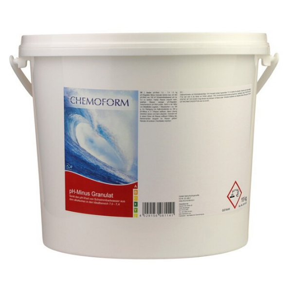Chemoform ph minus granulat 15kg Bazeni Jukić