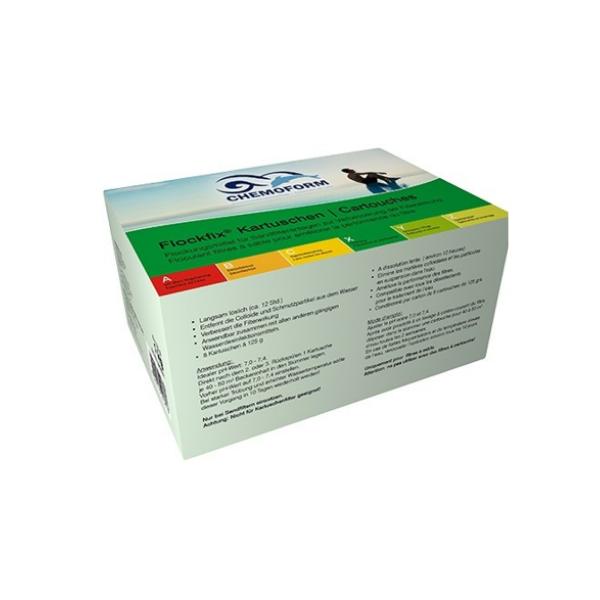Chemoform Flockfix kartuše 8x125 g Bazeni Jukić